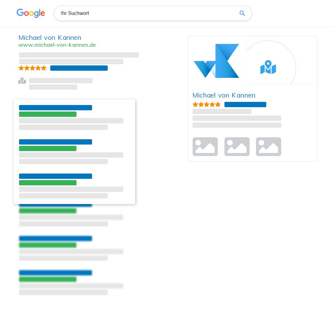 Google SEO - von Kannen Mediengestaltung & Fotografie